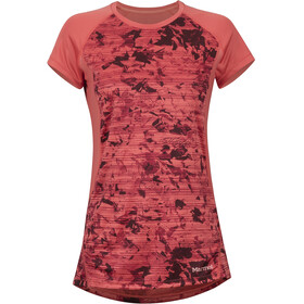 Marmot Crystal Shortsleeve Shirt Women red